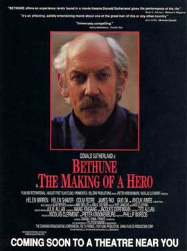 Bethune: the Making of a Hero - 11 x 17 Movie Poster - Style B