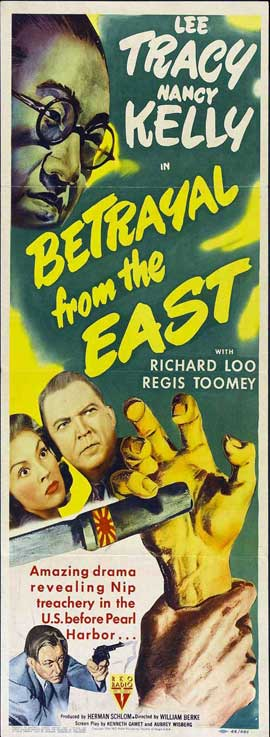 Betrayal from the East - 14 x 36 Movie Poster - Insert Style A