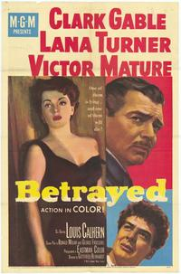 Betrayed - 27 x 40 Movie Poster - Style A