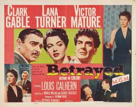 Betrayed - 30 x 40 Movie Poster UK - Style A