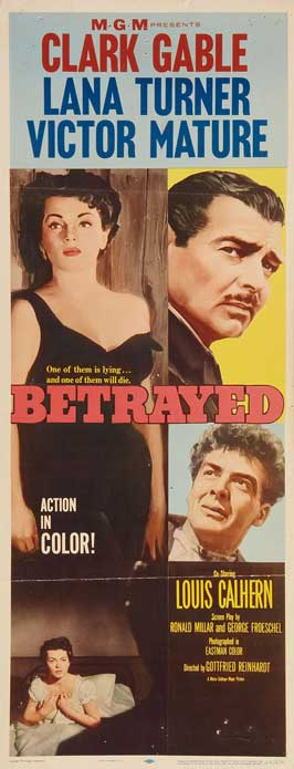 Betrayed - 14 x 36 Movie Poster - Insert Style A