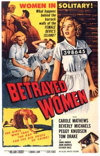 Betrayed Women - 11 x 17 Movie Poster - Style A