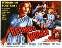 Betrayed Women - 11 x 14 Movie Poster - Style A