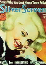 Bette Davis - 11 x 17 Silver Screen Magazine Cover 1940's Style A