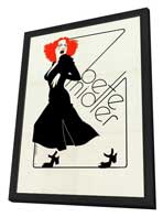 Bette Midler - 11 x 17 Movie Poster - Style A - in Deluxe Wood Frame