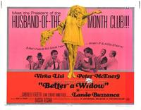 Better a Widow - 11 x 14 Movie Poster - Style A