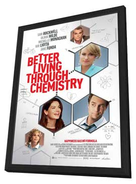 Better Living Through Chemistry - 11 x 17 Movie Poster - Style A - in Deluxe Wood Frame