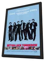 Better Luck Tomorrow - 11 x 17 Movie Poster - Style A - in Deluxe Wood Frame