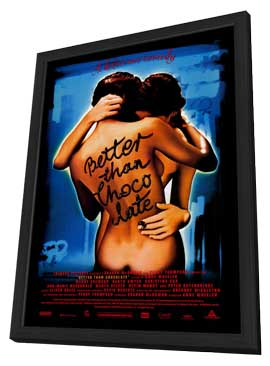 Better Than Chocolate - 11 x 17 Movie Poster - Style A - in Deluxe Wood Frame