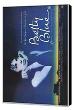 Betty Blue - 27 x 40 Movie Poster - Style B - Museum Wrapped Canvas
