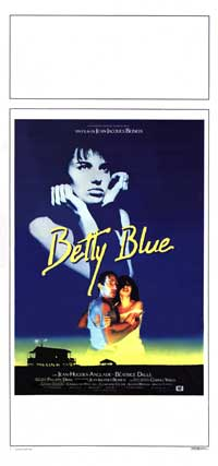 Betty Blue - 13 x 28 Movie Poster - Italian Style A