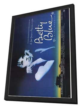 Betty Blue - 27 x 40 Movie Poster - Style B - in Deluxe Wood Frame