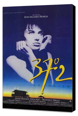 Betty Blue - 27 x 40 Movie Poster - French Style A - Museum Wrapped Canvas