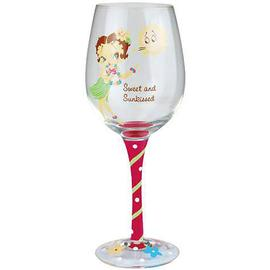 Betty Boop - Sweet and Sunkissed Wine Glass