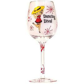 Betty Boop - Dancing Diva Wine Glass