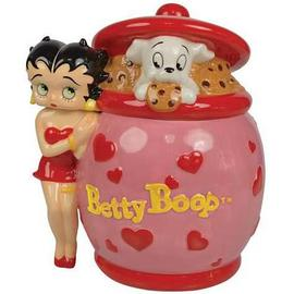 Betty Boop - Heart Deco Cookie Jar