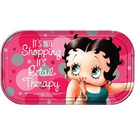 Betty Boop - Retail Therapy Magnetic Mini Tin Sign