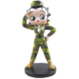Betty Boop - Army Betty Mini Statue