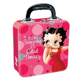 Betty Boop - Retail Therapy Square Tin Tote