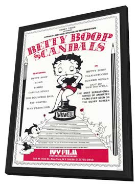 Betty Boop Scandal - 11 x 17 Movie Poster - Style A - in Deluxe Wood Frame