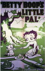 Betty Boop's Little Pal - 27 x 40 Movie Poster - Style A