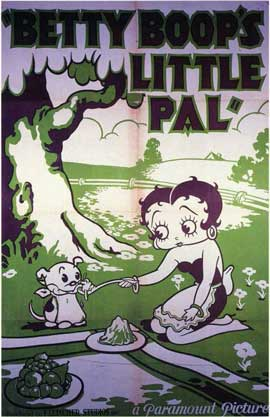 Betty Boop's Little Pal - 11 x 17 Movie Poster - Style A