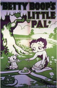 Betty Boop's Little Pal - 43 x 62 Movie Poster - Bus Shelter Style A