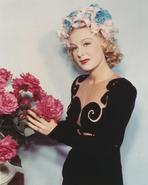 Betty Hutton - Betty Hutton Posed in Black Dress
