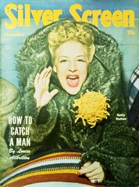 Betty Hutton - 27 x 40 Movie Poster - Silver Screen Magazine Cover 1940's Style A