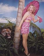 Betty Hutton - Betty Hutton Posed Pink Dress