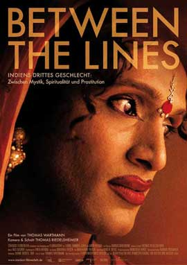 Between the Lines - Indiens drittes Geschlecht - 11 x 17 Movie Poster - German Style A