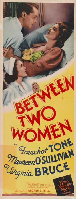 Between Two Women - 14 x 36 Movie Poster - Insert Style A