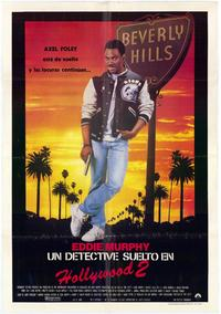 Beverly Hills Cop 2 - 11 x 17 Movie Poster - Spanish Style A