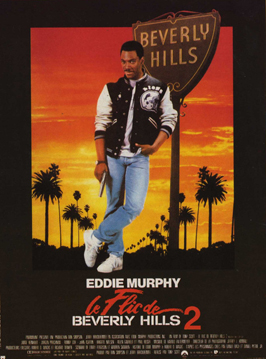 Beverly Hills Cop 2 - 11 x 17 Movie Poster - French Style A