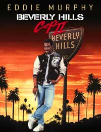 Beverly Hills Cop II - 43 x 62 Movie Poster - Bus Shelter Style A
