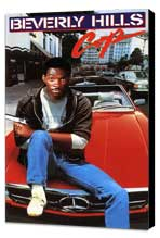 Beverly Hills Cop - 11 x 17 Movie Poster - Style D - Museum Wrapped Canvas