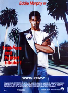 Beverly Hills Cop - 11 x 17 Movie Poster - Danish Style A