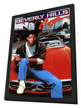 Beverly Hills Cop - 11 x 17 Movie Poster - Style D - in Deluxe Wood Frame