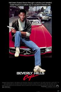 Beverly Hills Cop - 11 x 17 Movie Poster - Style A - Museum Wrapped Canvas