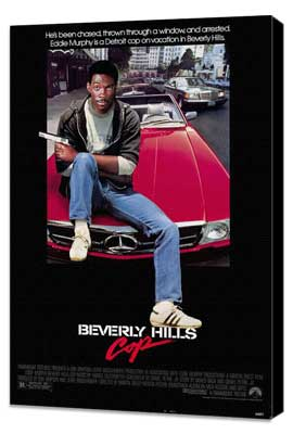 Beverly Hills Cop - 27 x 40 Movie Poster - Style A - Museum Wrapped Canvas