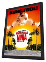 Beverly Hills Ninja - 11 x 17 Movie Poster - Style A - in Deluxe Wood Frame