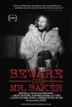Beware of Mr. Baker - 11 x 17 Movie Poster - Style A