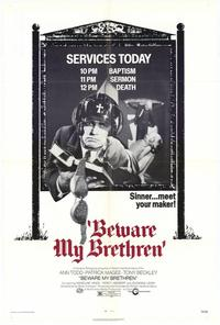 Beware of the Brethren - 11 x 17 Movie Poster - Style B