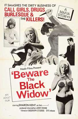 Beware the Black Widow - 11 x 17 Movie Poster - Style A