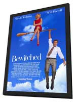 Bewitched - 11 x 17 Movie Poster - Style B - in Deluxe Wood Frame
