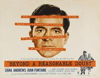 Beyond a Reasonable Doubt - 11 x 17 Movie Poster - Style E