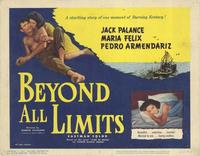 Beyond all Limits - 22 x 28 Movie Poster - Half Sheet Style A