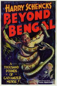 Beyond Bengal - 43 x 62 Movie Poster - Bus Shelter Style A