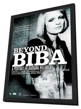 Beyond Biba: A Portrait of Barbara Hulanicki - 11 x 17 Movie Poster - Style A - in Deluxe Wood Frame