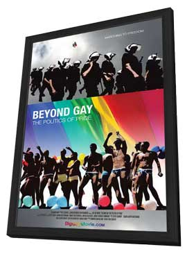 Beyond Gay: The Politics of Pride - 11 x 17 Movie Poster - Style A - in Deluxe Wood Frame